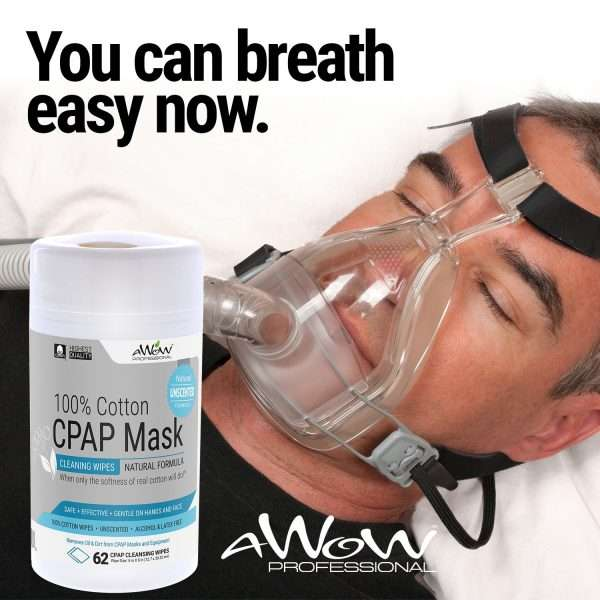 CPAP mask wipes unscented breath easy