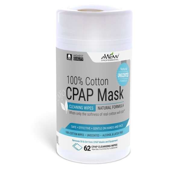 CPAP mask wipes 62 count Canister