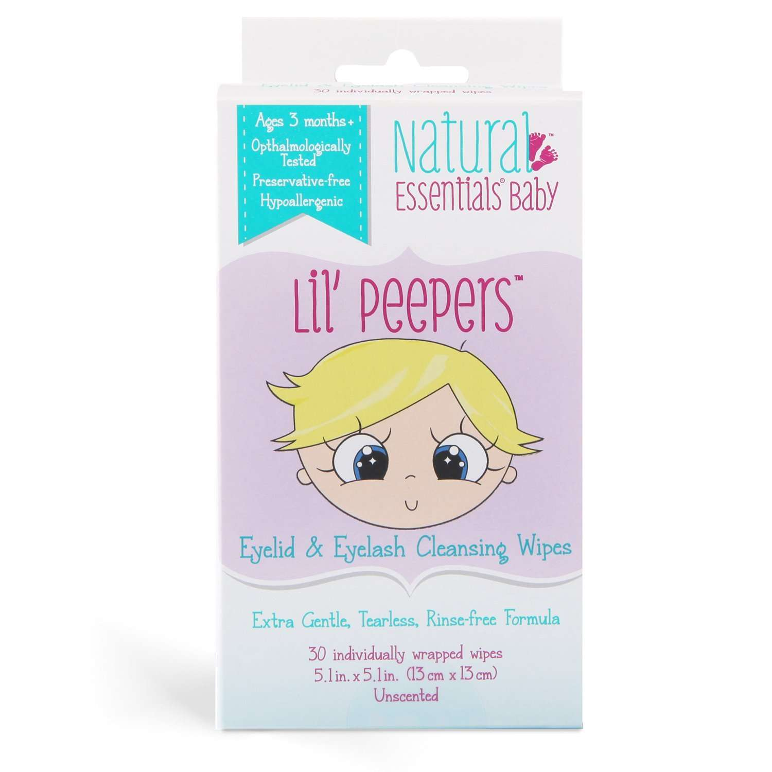Baby Eye Wipes good for adults and children of all ages.