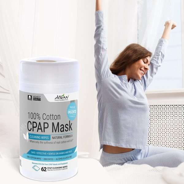 CPAP mask wipes unscented wake up refreshed