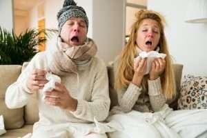 Flu Antibacterial Hand Wipes