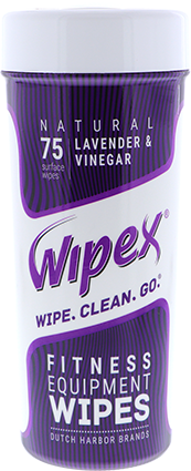 wipex fitness wipes canister