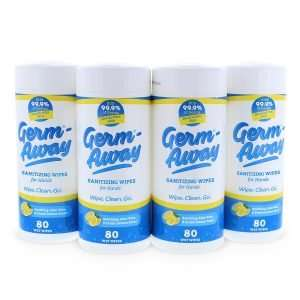 Germ-Away 4 Pack Standard Canisters