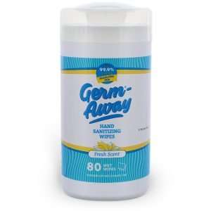 Germ-Away Fresh Scent 80 count canister